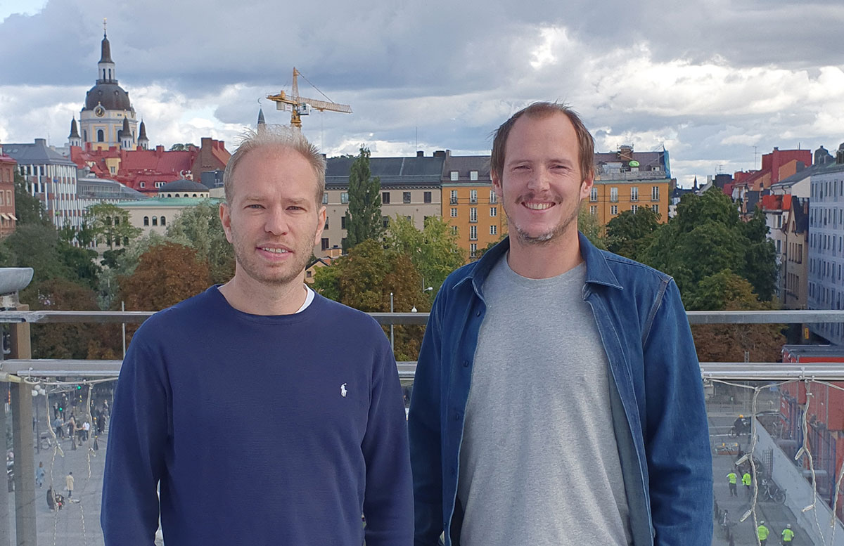Photo of founders of the Swedish company Myrspoven